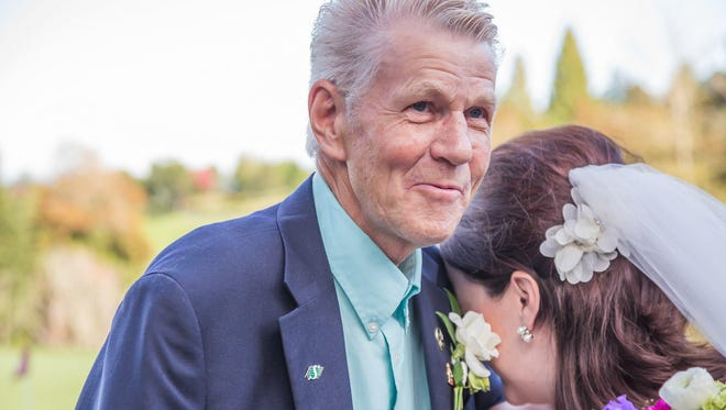 Marvin Knutson, at the 2015 wedding of his granddaughter Ashley Hibbert, was killed in a crash south of Great Falls on Saturday.