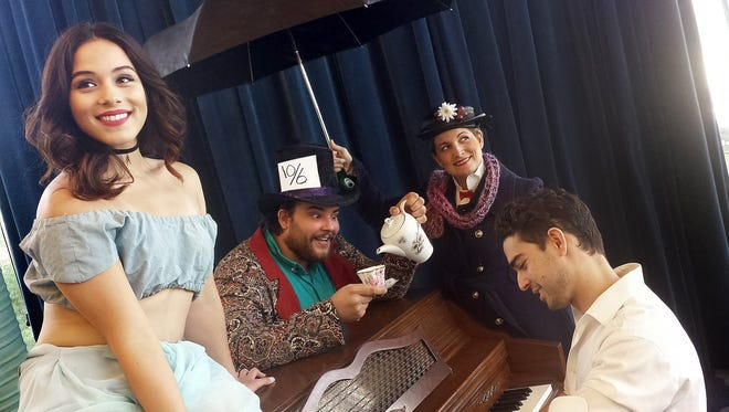 """Wishing Upon a Star,"" showing June 23 through July 1, at Boba Cafe and Cabaret, 1900 S. Espina St., will feature a wide range of Disney song favorites. From left to right, performers Daniela Castorena, Cameron Lang, Amanda Bradford and collaborative pianist Mark Klett."