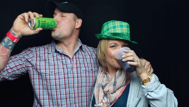 14th Star Brewing co-founder Steve Gagner, sips some product with his sister and company CEO, Andrea Gagner in this undated courtesy photo.