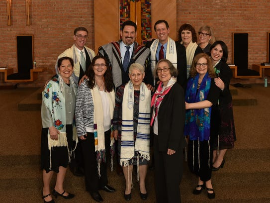 Past Temple Beth El clergy, surviving spouses, and