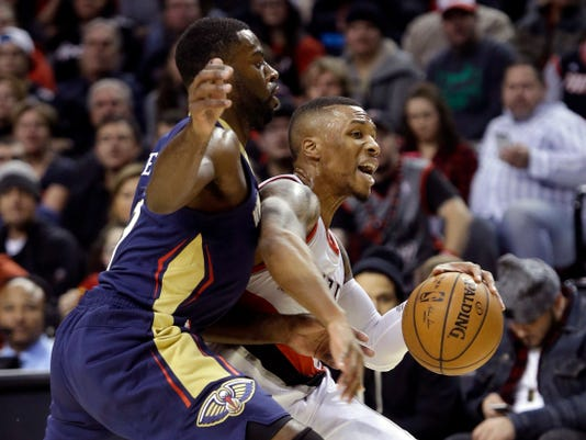 Pelicans Trail Blazers Basketball (2)