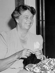 Eleanor Roosevelt in her Hyde Park home, July 4, 1941.<137> (AP Photo/George R. Skadding)<137>