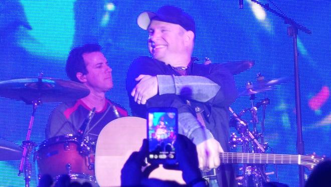 Garth Brooks performs Feb. 25 at Marathon Music Works in Nashville.