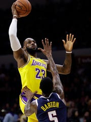 9 Photos That Prove Lebron Is Playing For Lakers