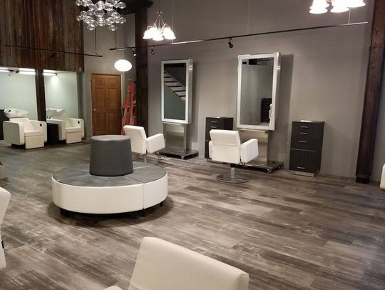 A look inside the redesigned Salon Envy, located at