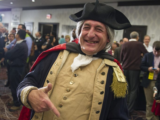 George Washington impersonator James Renwick Manship