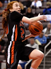 Central York's Emma Saxton is leading the Panthers