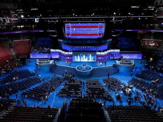 AP DEM 2016 CONVENTION A ELN CVN USA PA