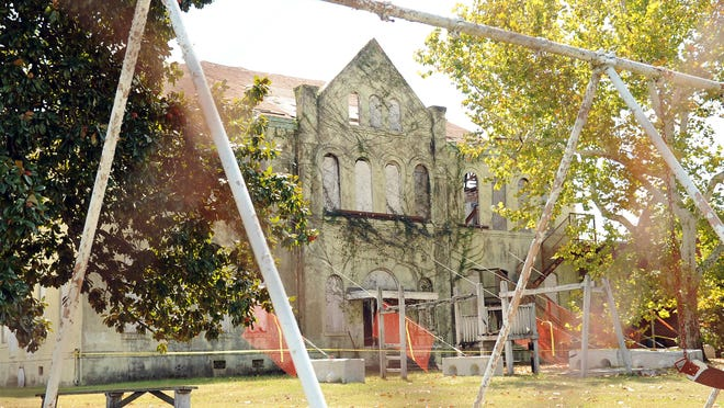 The City of Hattiesburg will spend about $70,000 to stabilize the historic Eaton School.