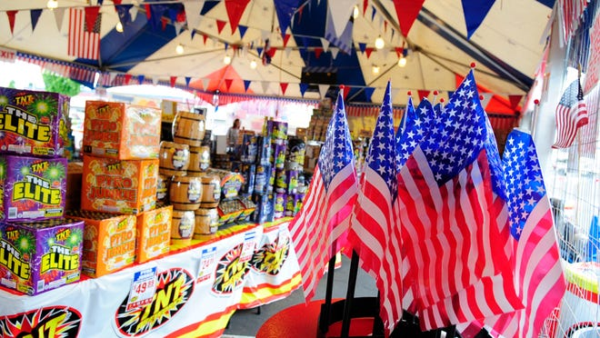 A fireworks stand.