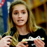 Students talk about their experiments, space and their launch visit