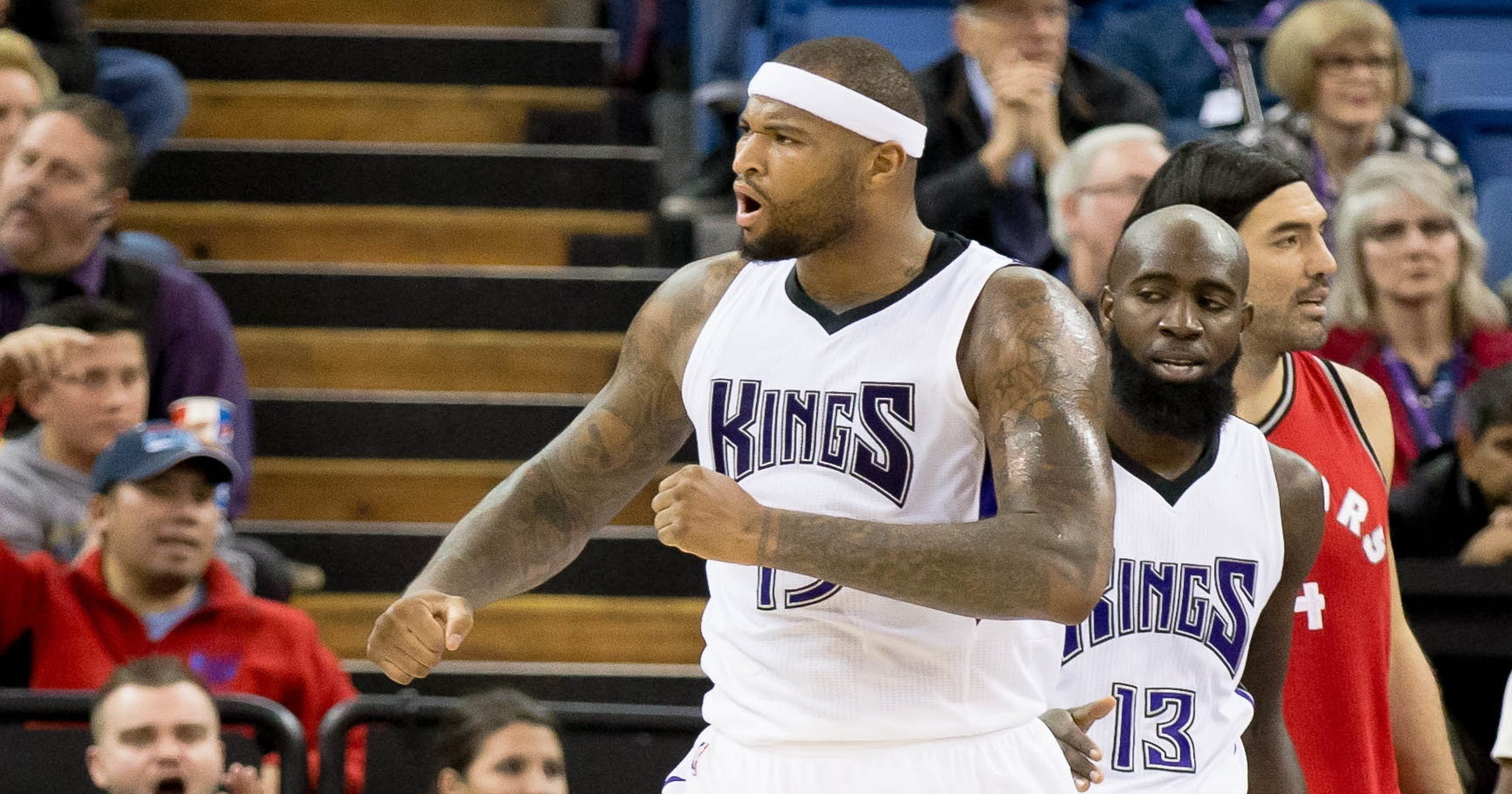 DeMarcus Cousins powers Kings by Raptors for third straight win 8fe00b431