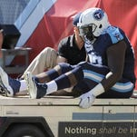 Titans guard Quinton Spain out three to four weeks
