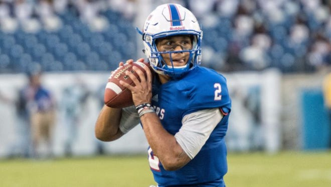 O'Shay Ackerman-Carter is transferring after spending the past two injury-riddled seasons as Tennessee State's starting quarterback.