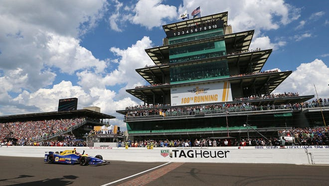 Here's the full Indy 500 race schedule.
