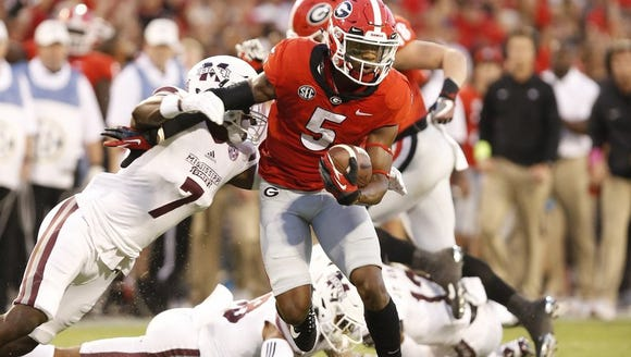Terry Godwin helped win Georgia win its first SEC title