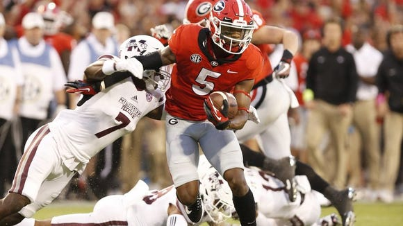 Terry Godwin helped win Georgia win its first SEC title since 2005.