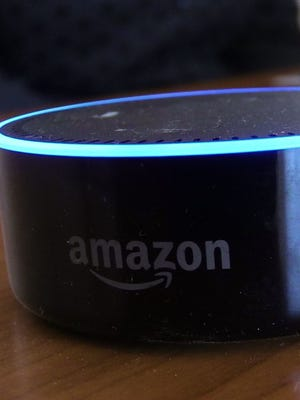 Alexa is Amazon?s counterpart to Siri that is part of the booming voice technology sector where individuals can speak to their devices ? in this case, an Amazon Echo ?  and get information.  Ricky Flores/The Journal News Alexa is Amazon's counterpart to Siri that is part of the booming voice technology sector where individuals can speak to their devices - in this case, an Amazon Echo - and get information.