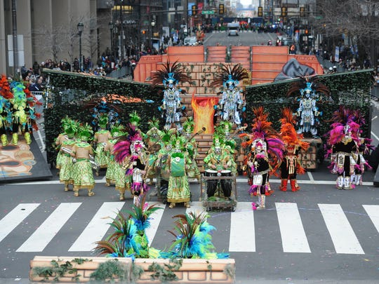 Fralinger String Band placed third in the String Band Division in 2016's Mummers Parade on New Year's Day.