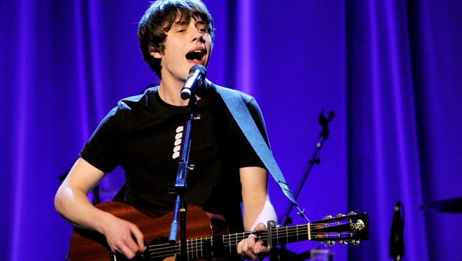 Jake Bugg, seen during a February performance in Los Angeles, will make an in-store appearance at Karma Records East, 21 N. Post Road, today.