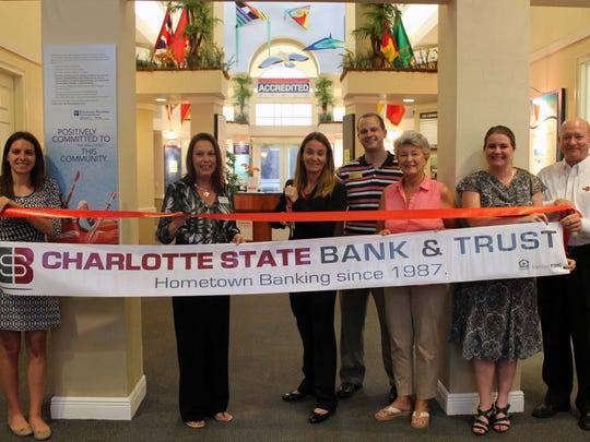 Charlotte State Bank had its ribbon cutting in Bonita Springs in November.