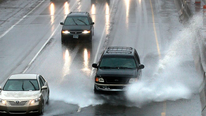HB 5635: Require the use of headlights while driving a vehicle in the rain and provide for penalties for noncompliance. Sponsor: Rep. Peter Lucido, R-Shelby Township.