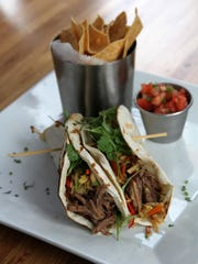 Short rib tacos from Reef & Barrel in Manasquan.