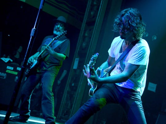 Soundgarden performs in 2014