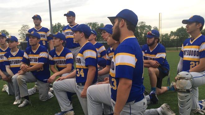 The Spotswood baseball team.