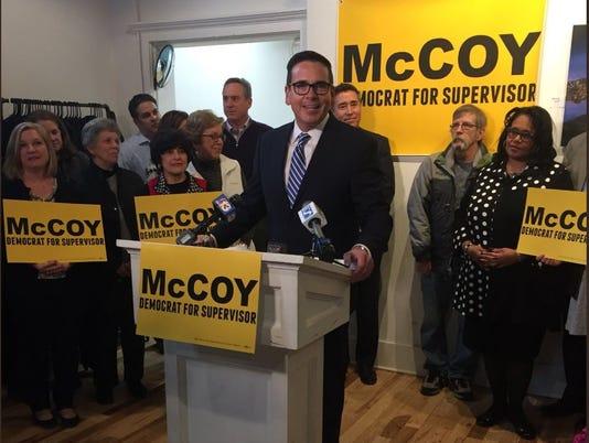 Matt McCoy supervisor candidacy