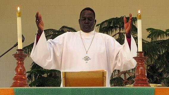 James Puotyual, a native of Sudan, will be ordained as a pastor in the North American Lutheran Church on Sunday afternoon at Abounding Joy Lutheran Church in St. Cloud.