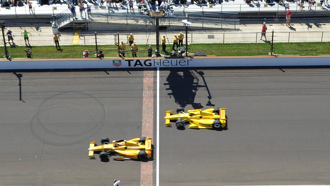 Ryan Hunter-Reay had the second-closest margin of victory in Indianapolis 500 history at 0.06 seconds.