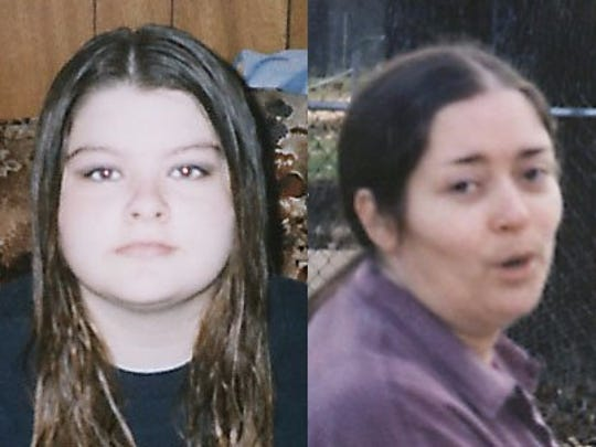 Thea Johnson (left) pleaded guilty to first-degree