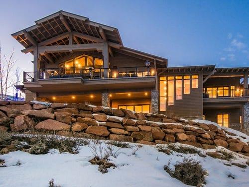 Utah: This five-bedroom house in Park City sleeps 14