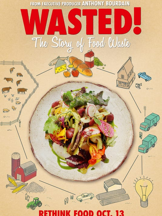 Anthony bourdain narrates documentary wasted the story of food waste wasted posterg forumfinder Gallery