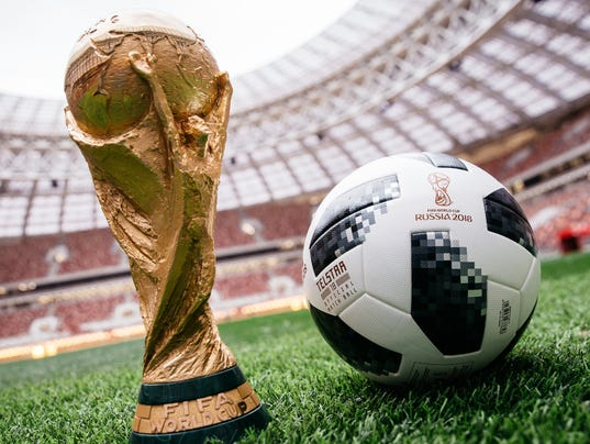 FIFA World Cup Trophy Soccer Ball