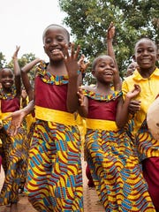 The African Children's Choir will perform Sunday at