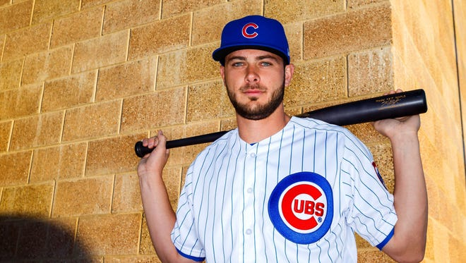 Kris Bryant is the reigning National League MVP.