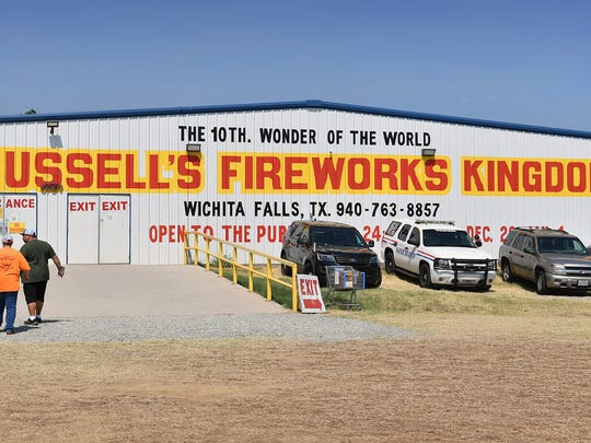 Russell Nettles began selling fireworks 39 years ago and grew his business into Russell's Fireworks Kingdom with 11,250 square feet of shopping in air conditioning.