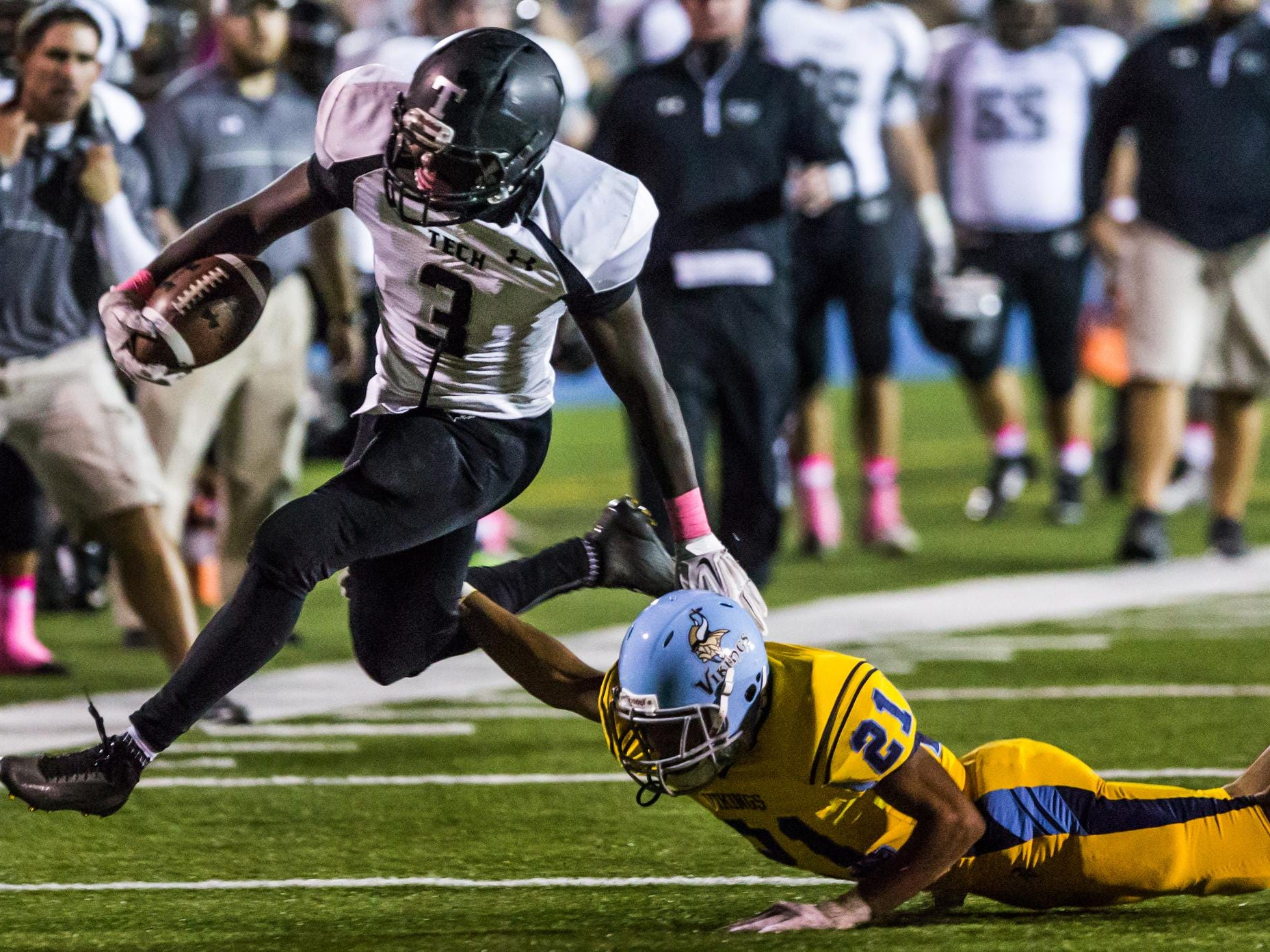 Patrick Griffin and Sussex Tech will once again look to vie for a Division I championship.