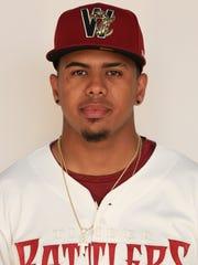 Milwaukee Brewers minor-league prospect Gilbert Lara.