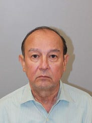 Jaime Sandoval was arrested on suspicion of sexual