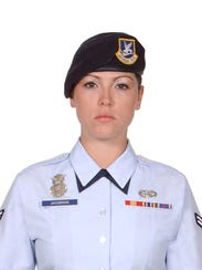 Airman Elizabeth Jacobson was killed in the line of