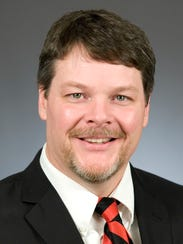 Incumbent Republican Rep. Jim Newberger of Becker is campaigning for higher office.