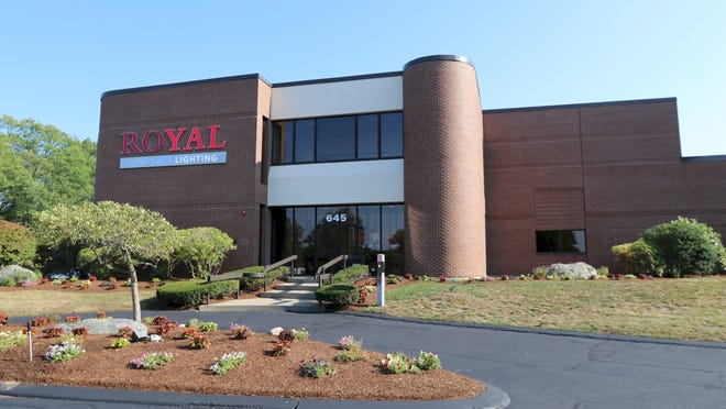 The building at 645 Myles Standish Blvd.