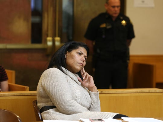 Rochester City Court Judge Leticia Astacio during a