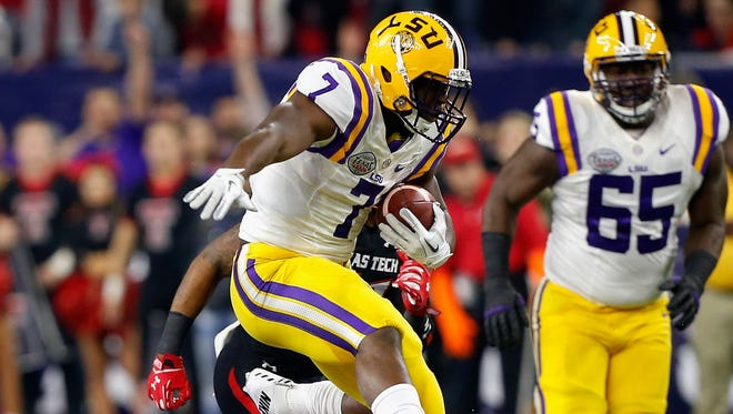 The Wisconsin defense faces the difficult task of stopping LSU running back Leonard Fournette on Sept. 3 at Lambeau Field.