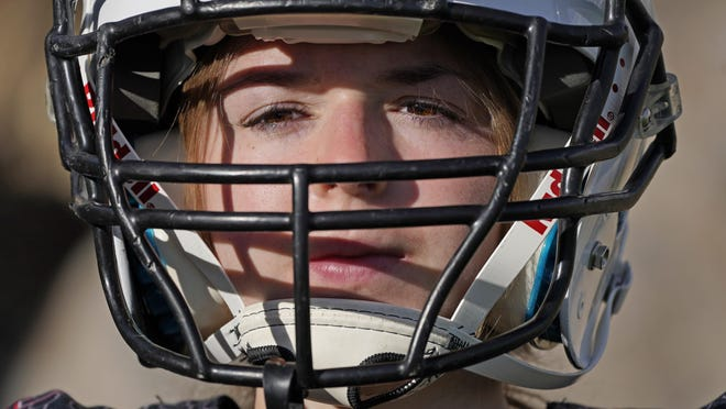 Sam Gordon was the only girl in a tackle football league when she started playing the game at age 9. Now, Gordon hopes she can give girls a chance to play on female-only high school teams through a lawsuit.