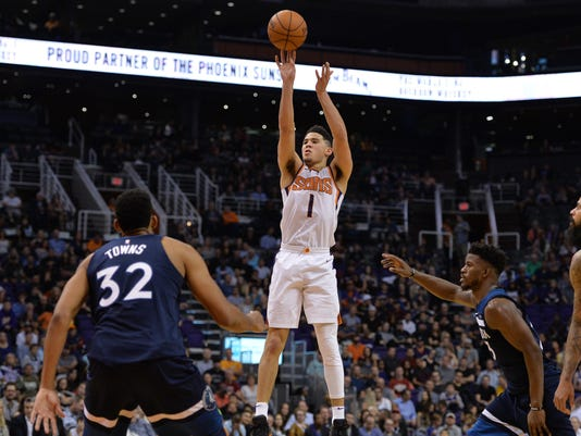 NBA: Minnesota Timberwolves at Phoenix Suns