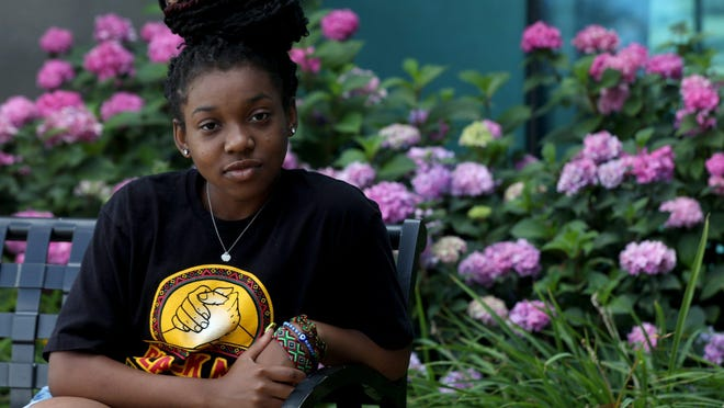 Lea Caldwell, 17, of Detroit will be the first generation college bound student from her family when she graduates from Mercy High School in Farmington Hills in 2021.